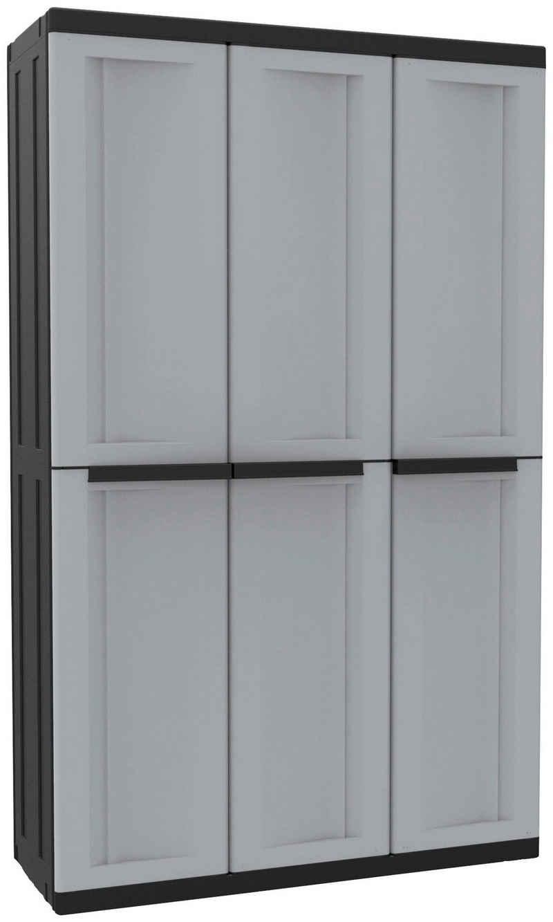 Kreher Mehrzweckschrank »C-twist« B/T/H: 102x39x170 cm, 3 Türen, 3 Einlegböden