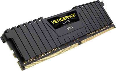 Corsair »VENGEANCE® LPX Speicherkit 32 GB (2 x 16 GB) DDR4 DRAM 3200MHz C16« PC-Arbeitsspeicher