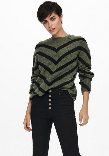 Only Rundhalspullover »ONLELIZA L/S PULLOVER KNT«
