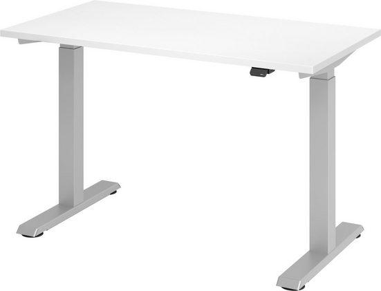bümö Schreibtisch »OM-XMST612«, elektrisch höhenverstellbar für's Homeoffice - Rechteck: 120x67 cm