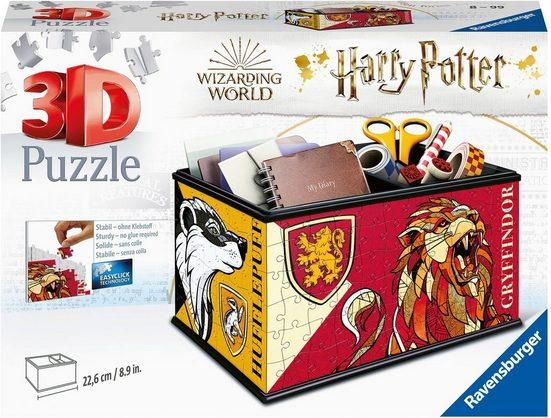 Ravensburger 3D-Puzzle »Aufbewahrungsbox Harry Potter«, 216 Puzzleteile, FSC® - schützt Wald - weltweit; Made in Europe