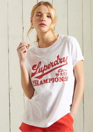 Superdry T-Shirt »COLLEGIATE CALI STATE« mit Rundhalsausschnitt