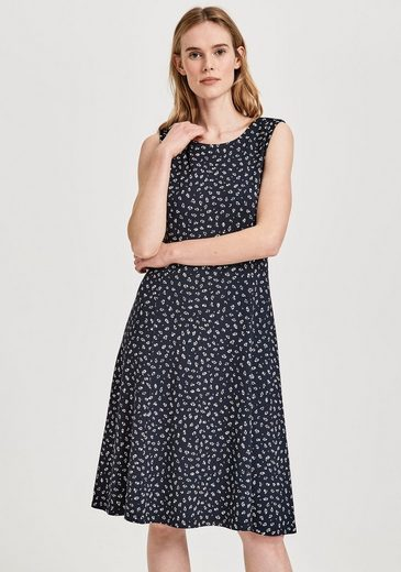 OPUS A-Linien-Kleid »Wenky Abstract« im dezenten Allover-Druck