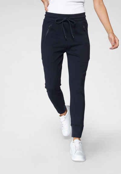 Zhrill Jogger Pants »FABIANA« Jogginghose mit Zippertaschen & Gummibündchen in elastischer Qualität