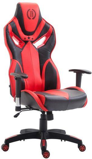 CLP Gaming Chair »Fangio Kunstleder«, mit Laufrollen