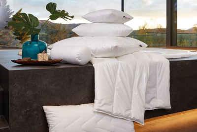 Kunstfaserbettdecke, »Aqua Aktiv«, Centa-Star, Bezug: 100% Baumwolle, besonders atmungsaktiv und feuchtigkeitsregulierend