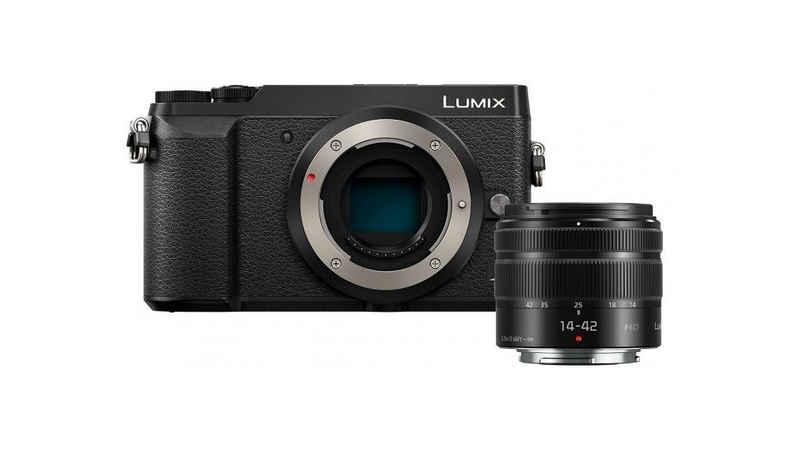 Panasonic »Lumix DMC-GX80NEGK + 14-42mm f3,5-5,6 II« Systemkamera