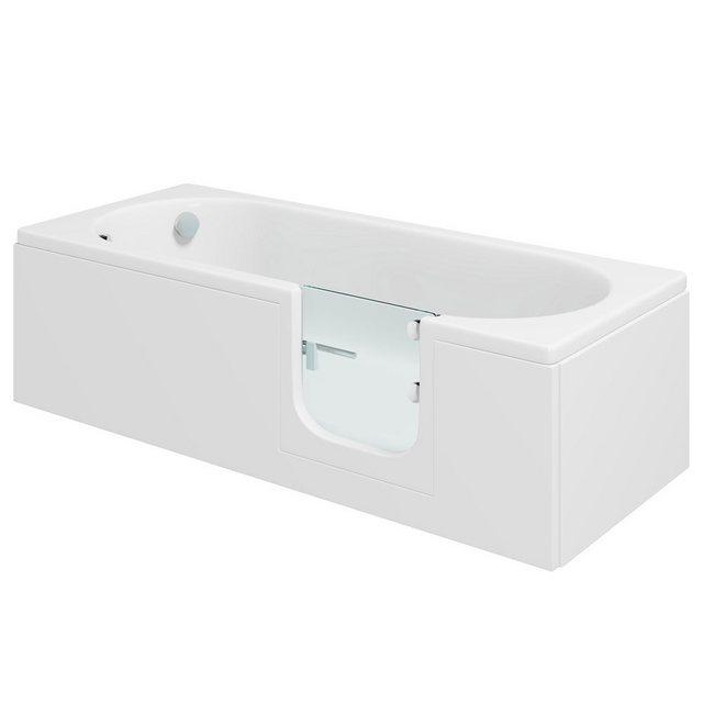 Badewannen und Whirlpools - HAK Badewanne »CASCADE, Badewanne mit Tür«, 169,5x70 cm, rechts  - Onlineshop OTTO