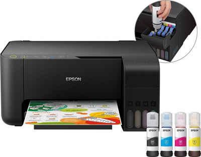 Epson Epson EcoTank ET-2710 Tintenstrahldrucker, (WLAN, kein Duplexdruck)