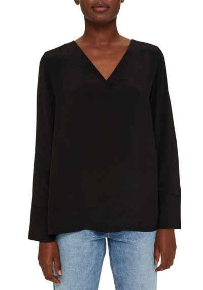 Esprit Collection Shirtbluse mit tollem V-Ausschnitt