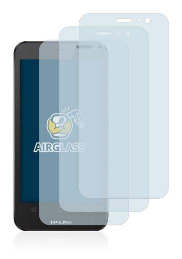 BROTECT Schutzfolie »Panzerglasfolie für TP-Link Neffos Y5L«, (3 Stück), Schutzglas Glasfolie klar