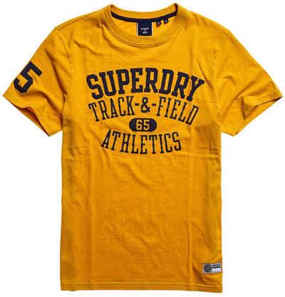 Superdry Rundhalsshirt »T&F TEE«