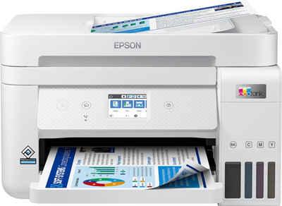Epson EcoTank ET-4856 Multifunktionsdrucker, (WLAN (Wi-Fi), Wi-Fi Direct, LAN (Ethernet)