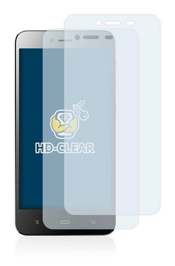 BROTECT Schutzfolie »für Phicomm Energy L (E653)«, (2 Stück), Folie Schutzfolie klar