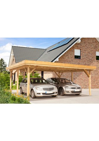 Kiehn-Holz Doppelcarport »KH 102« 210 cm Einfahrt...
