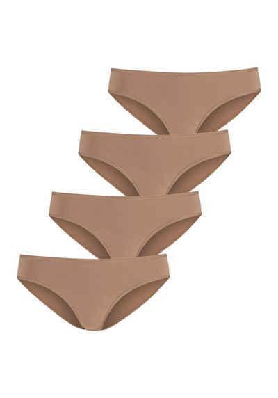 LASCANA Jazz-Pants Slips (4 Stück) in schönen Hauttönen