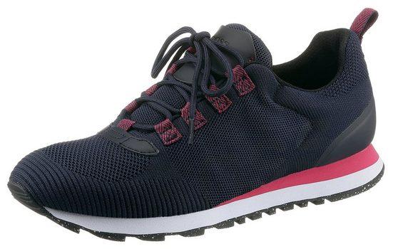 Boss »Parkour Runn Nachhaltig« Sneaker aus recyceltem Textil