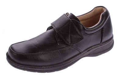 Magnus »Business Slipper Anzug Schuhe Leder Halbschuhe« Schnürschuh Business Schuhe mit Klettverschluss
