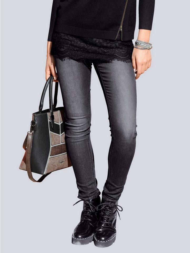 alba moda -  Jeggings in Super Stretch-Qualität