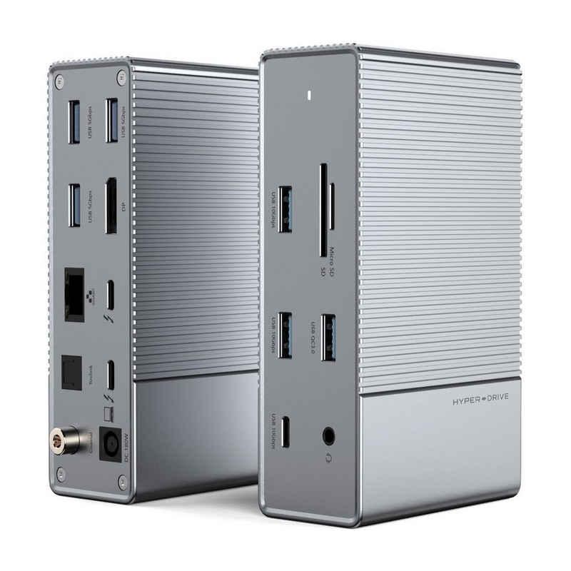 HYPER by Sanho Laptop-Dockingstation »HyperDrive«, [16in1 Thunderbolt 3 Dockingstation, Für MacBooks & USB-C Notebooks]