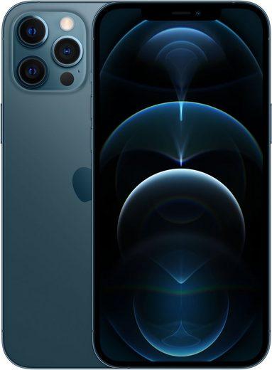 Apple iPhone 12 Pro Max - 512GB Smartphone (17 cm/6,7 Zoll, 512 GB Speicherplatz, 12 MP Kamera, ohne Strom Adapter und Kopfhörer, kompatibel mit AirPods, AirPods Pro, Earpods Kopfhörer)