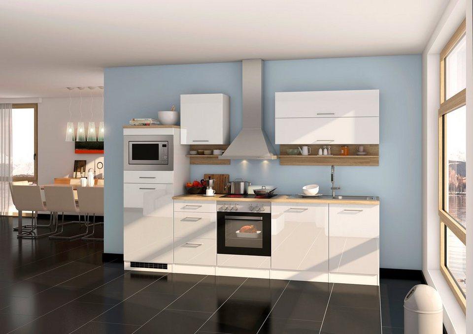HELD MÖBEL Küchenzeile »Mailand«, mit Elektrogeräten, Breite 280 cm online  kaufen | OTTO