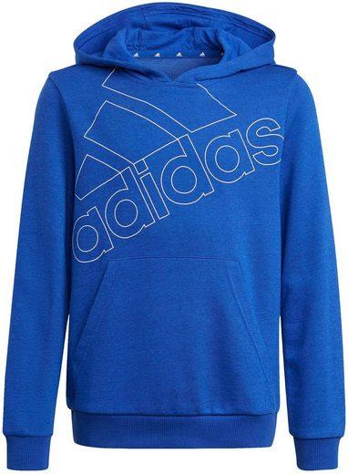 adidas Performance Kapuzensweatshirt »ADIDAS BOYS ESSENTIALS LOGO HOODIE«