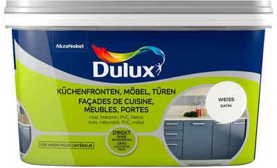 Dulux Holzlack »Fresh Up«, für Küchen, Möbel und Türen, weiß, 2 l