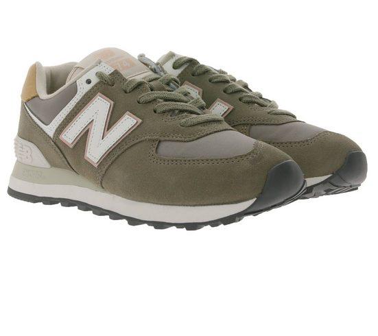 New Balance »New Balance WL574 Sneaker sportive Damen City-Schuhe Damen mit Encap-Sohle Turn-Schuhe Grau« Sneaker