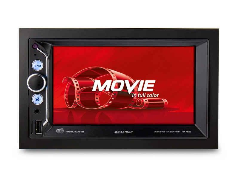 Caliber »Caliber Audio Technology RMD803DAB-BT Autoradio 2Din – Bluetooth DAB+ – Mirrorlink – CALIBER« Autoradio