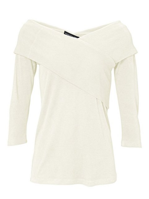 heine TIMELESS Wickelshirt 3/4-Arm   Bekleidung > Shirts > Wickelshirts   ASHLEY BROOKE by Heine