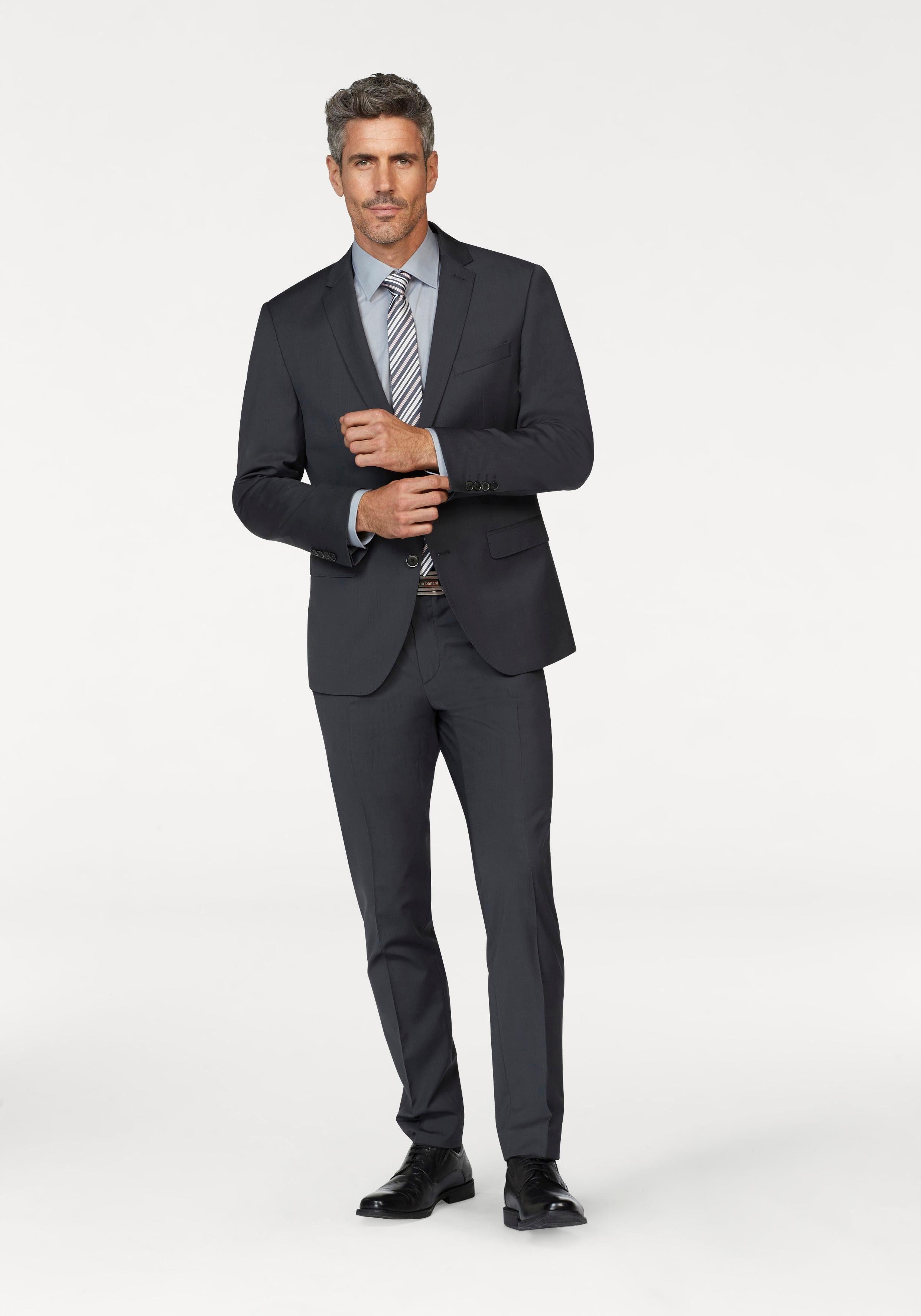bugatti Anzug »FLEXCITY« (2 tlg) Superelastisch, schmale Passform online kaufen | OTTO