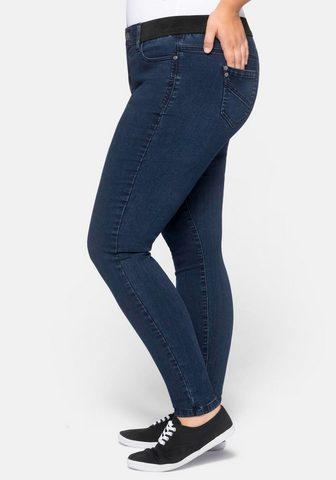 Sheego Stretch-Jeans in hoch elastingas Quali...