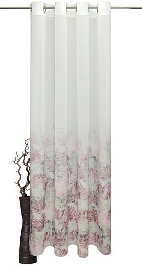 Vorhang nach Maß »Tarovina«, VHG, Kräuselband (1 Stück), Deko Wunschmaß,Verlauf,Digitaldruck