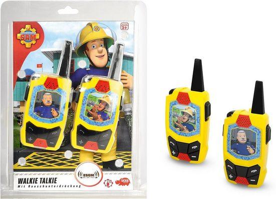 Dickie Toys Walkie Talkie »Feuerwehrmann Sam Walkie Talkie«