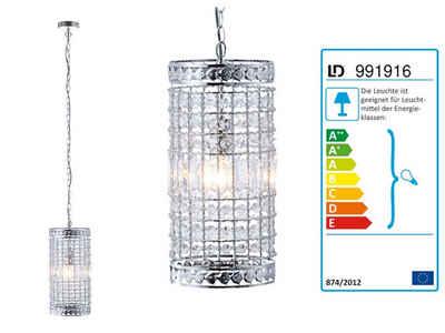Leuchten Direkt Hängeleuchten »LeuchtenDirekt BOLLY Pendelleuchte Zylinder Acrylkristalle 15103-17«