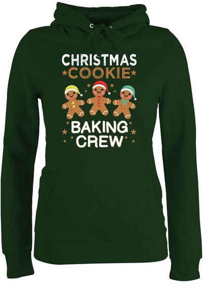 Shirtracer Hoodie »Christmas Cookie Baking Crew - 3 Kekse - Weihnachten & Silvester - Damen Premium Kapuzenpullover«