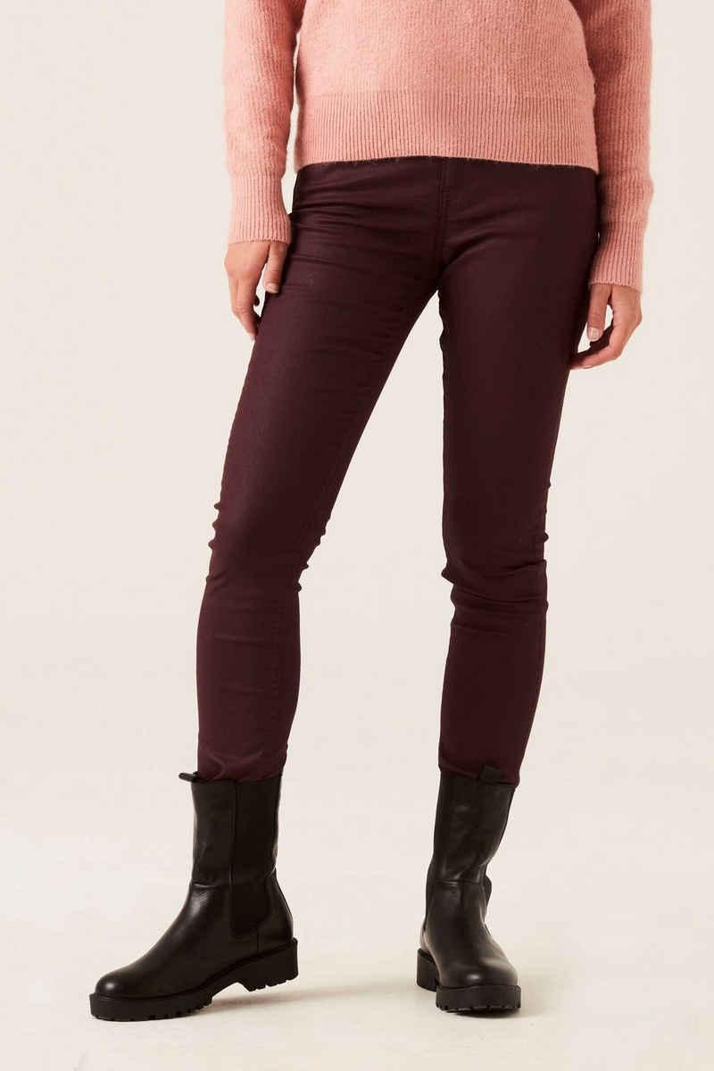 Garcia Skinny-fit-Jeans »J10310 - 4004-tawny port« aus Kunstleder
