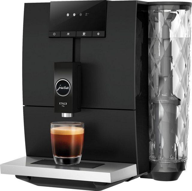 JURA Kaffeevollautomat 15344 ENA 4 Full Metropolitan Black EA