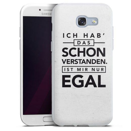 DeinDesign Handyhülle »Schon verstanden« Samsung Galaxy A3 (2017), Hülle Sprüche Statement Antivalentinstag