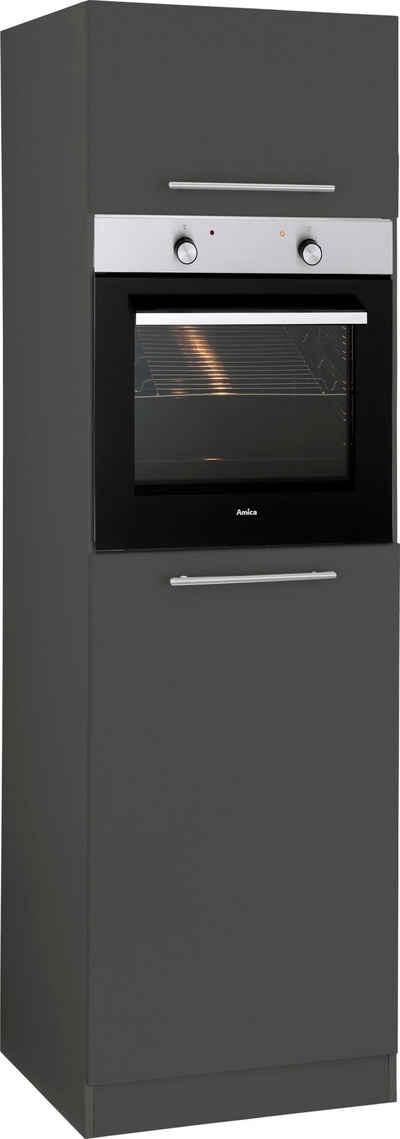 wiho Küchen Backofen/Kühlumbauschrank »Unna« 60 cm breit
