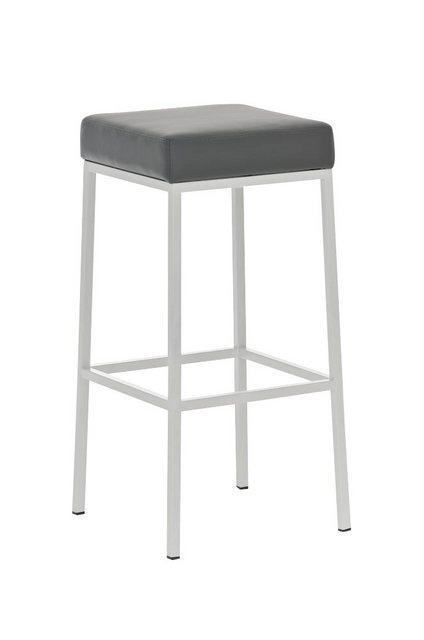 Sessel und Hocker - CLP Barhocker »Montreal 80 Kunstleder« (Set, 2er), gepolsterte Sitzfläche und Gestell mit Fußstütze  - Onlineshop OTTO