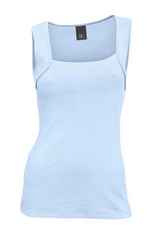 LINEA TESINI by Heine Marškinėliai be rankovių iš Baumwolle
