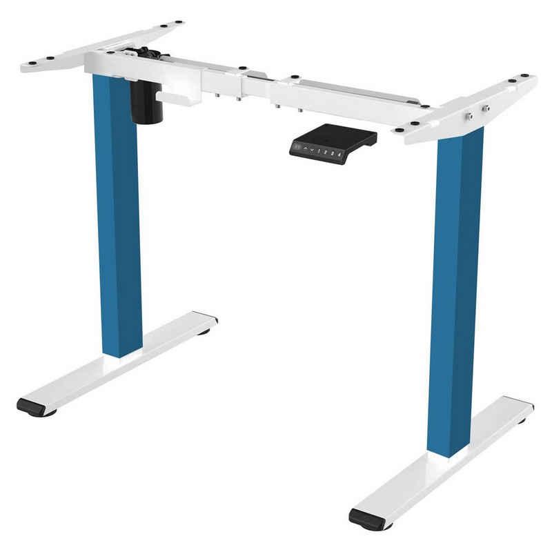 FLEXISPOT Schreibtisch »E1« (1-St), Höhenverstellbarer Schreibtisch Elektrisch höhenverstellbares Tischgestell, 2-Fach-Teleskop, mit Memory-Steuerung, Farbe auswählbar