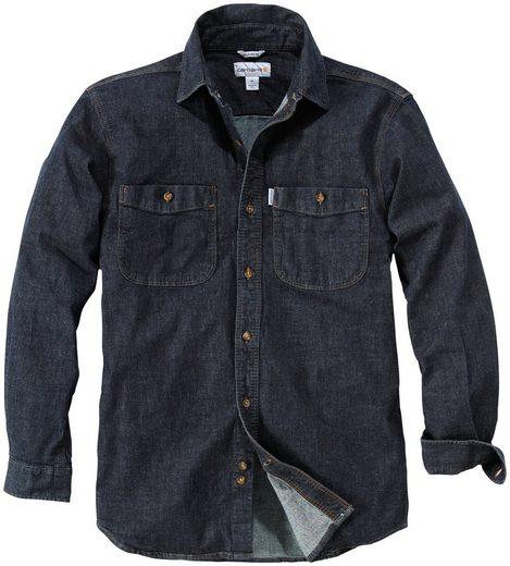 CARHARTT Hemd »Denim shirt rotary rinse«