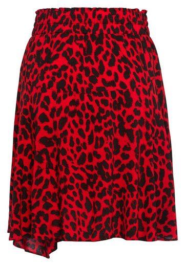 MARC AUREL Minirock mit Leopardenmuster
