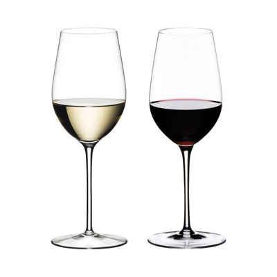 RIEDEL Glas Weißweinglas »Sommeliers Glas Riesling Grand Cru 2er Set«, Glas