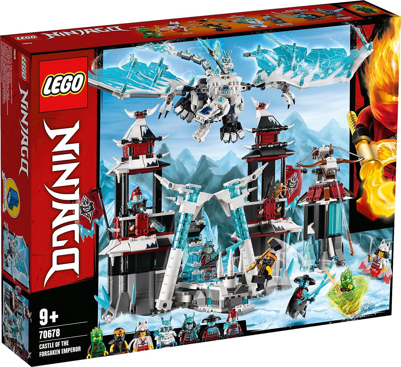 LEGO Ninjago Festung im ewigen Eis (70678) ab 72,97