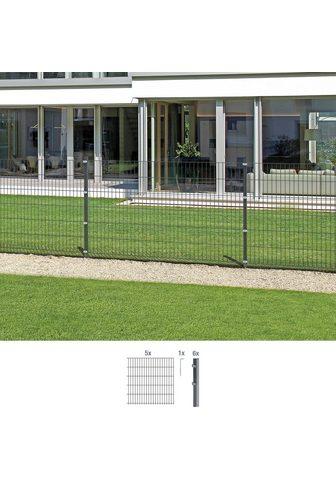 GAH Alberts Doppelstabmattenzaun (Set) 80 cm hoch ...