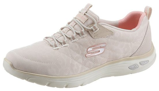 Skechers »Empire D´Lux - Spotted« Slip-On Sneaker mit changierenden Leo-Muster